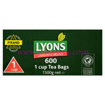 Lyons Green 600 x Tea Bags 1Cup