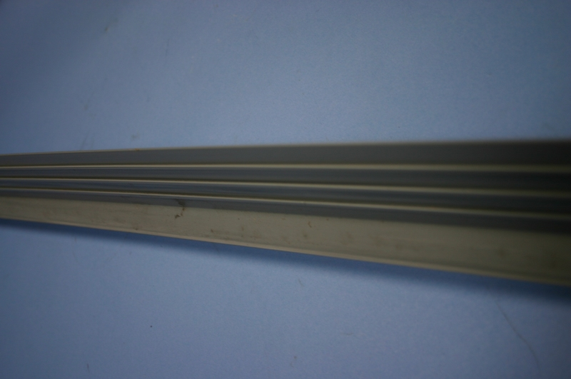 Expansion joint strip for concrete mtr pvc goodwins