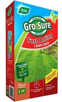 Gro-Sure Lawn Seed Fast Acting 50m2