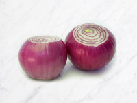 Whole Peeled Red Onion