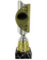 35cm Silver & Gold Blaze Award (V2251)