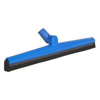 Double blade squeegee with pivot head – black cartridge