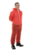 17421 Polyprop Boilersuit Red (L)