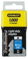 Stanley 10mm Light Duty StaplePk (1000)