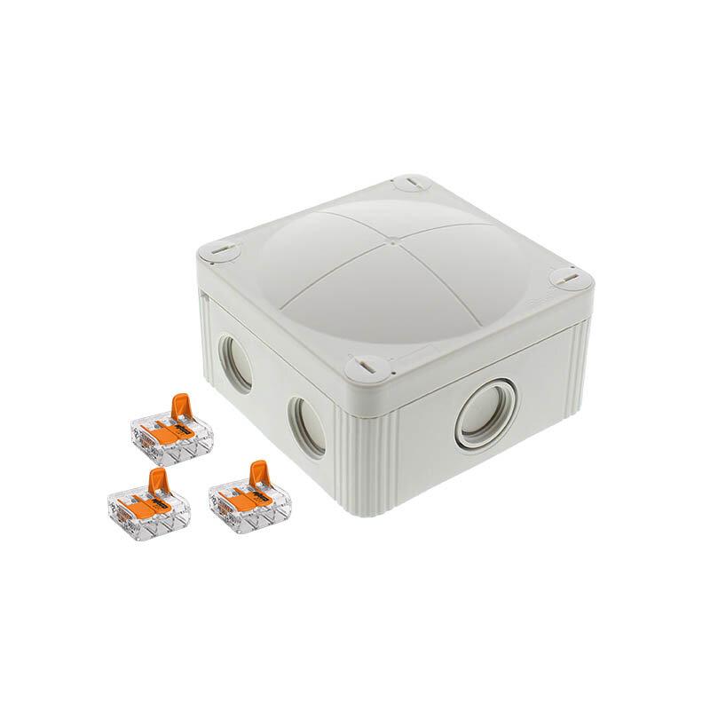 Wiska Combi 407 Junction Box Grey 10109674