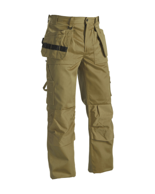 Blaklader 1530-1860 Men's Work Trousers Khaki