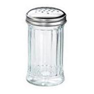 Flour / Sugar Shaker Glass S/S Top 12oz