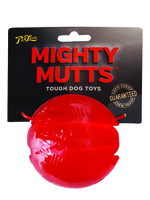Pet Love Mighty Mutts Rubber Ball - Large x 1