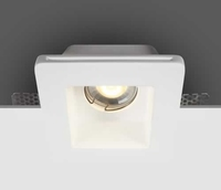 ONE Light GYPSUM Square Trimless Fixed Downlight