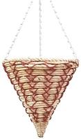 "Alexander Hanging Basket Cone 12"""