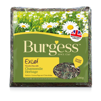 Burgess Excel Herbage with Chamomile 500g x 5