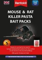 RENTOKIL MOUSE & RAT KILLER PASTA BAIT PACKS 5 SACHET