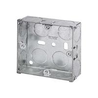 1 Gang 25mm Metal Socket Box