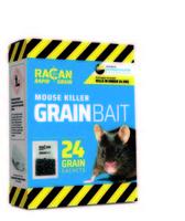 Racan Rapid Mouse Killer GRAIN Bait 24-Pack x 1