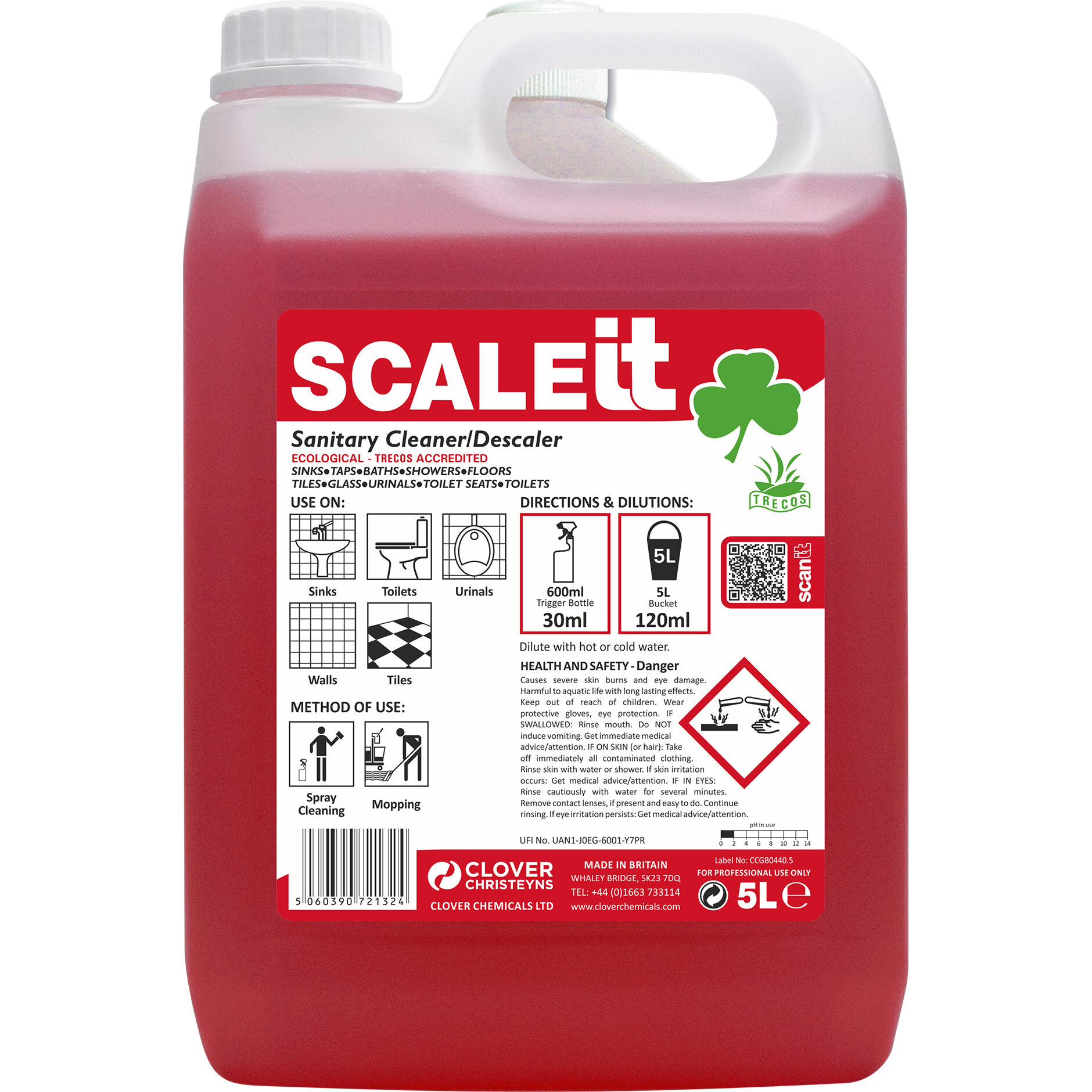 5L SCALEIT TOILET CLEANER