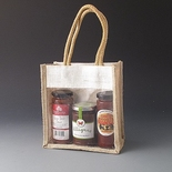 Square Jute bag (Pack of 10)