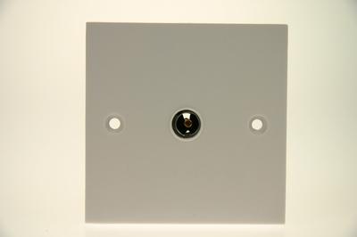 Coaxial Tv Single Socket