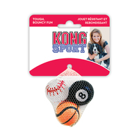 "Air KONG Sports Balls X-Small 1½"" 3-Pack x 1"
