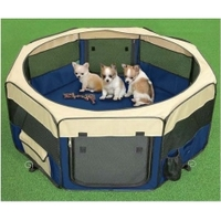 Henry Wag 8-Sided Fabric Pet Play Pen 61 x 61cm x 1
