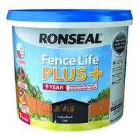 Fence Life Plus 9L Tudor Black Oak