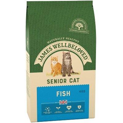 James Wellbeloved Senior Cat Fish 4kg