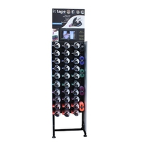 It-Tape Floor Stand with DVD Player Header