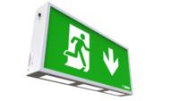 Ventilux (left arrow) Emergency Box LED