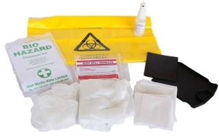 BIO HAZ DISPOSAL KIT VARIOUS PACKS