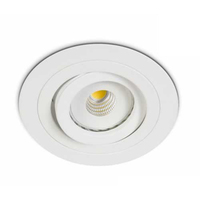 White Round Adjustable Downlight | LV1202.0359