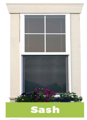 Sash Window Decal
