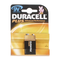 Duracell Plus MN1604 9v Battery 1pk