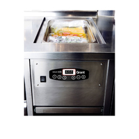 Grant Pasto Sous Vide Built In Water Bath 12Litre Stainless Steel 0.8kw
