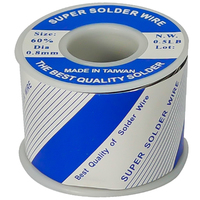 SOLDER WIRE | 60/40 ROSIN CORE 0.8mm - 1/2LB