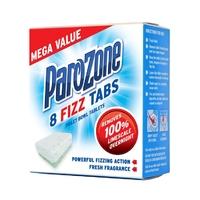 Parozone Toilet Fizz Tabs 8 pack