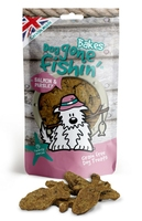 Dog Gone Fishin' Salmon & Parsley Bakes 75g x 6