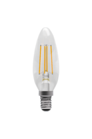 Bell 05309 LED 4W Filament Candle Clear Dim SES WW