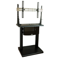 Euromet 11000 | PLATEA – flat panel mount ground stand with wheels