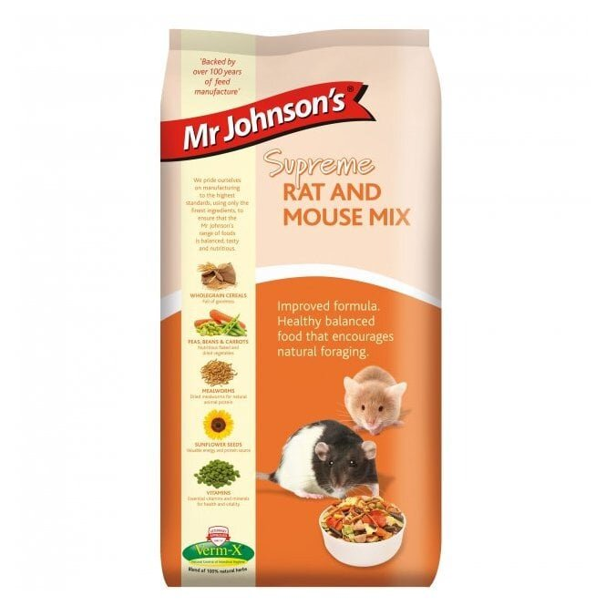 Mr Johnsons Supreme Rat & Mouse Mix 900g