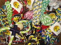 Paws Paradise Rope Toy Assortment - Medium x 40