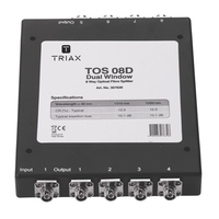 TOS 08D Dual Optical Splitter
