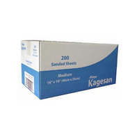 "Kagesan Bulk Blue Box Sandsheets - Medium 16"" x 10"" x 2"
