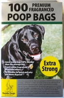 Tidy Z Doggy Poop Bags - Box of 100 x Extra Strong x 1