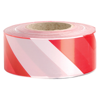 Zebra Tape 500m Red/White