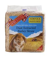 Norfolk Pastures Barley Straw 2kg x 4 [Zero VAT]