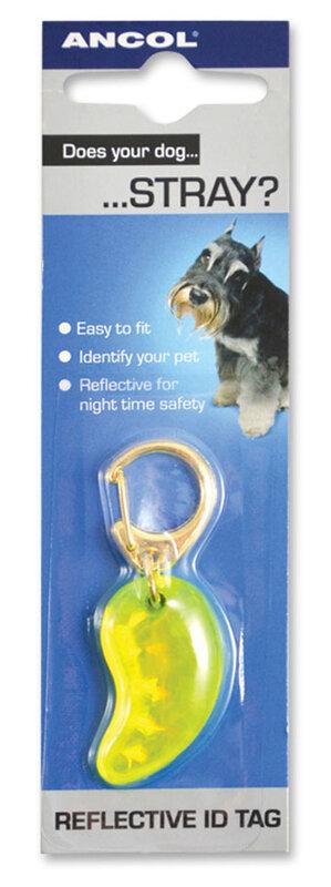 Ancol Reflective Dog ID Tag