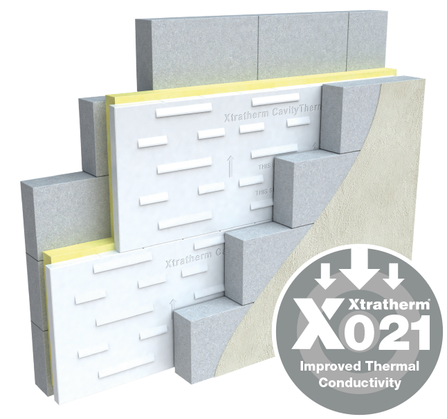Cavity Therm Full Fill Wall 125mm - 2.16 Sq mtr Carton