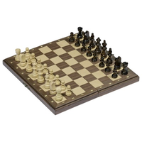Wooden Chess Set - Magnetic W/Folding board