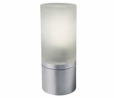 ONE Light One Light Aluminium Pole with Opaque Glass  22cm E27 IP54