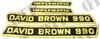 Decal Kit David Brown 990