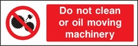 Prohibition and Machinery Sign PROH0008-1219